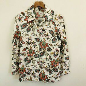 Tommy Bahama Paisley Floral Button Up Shirt